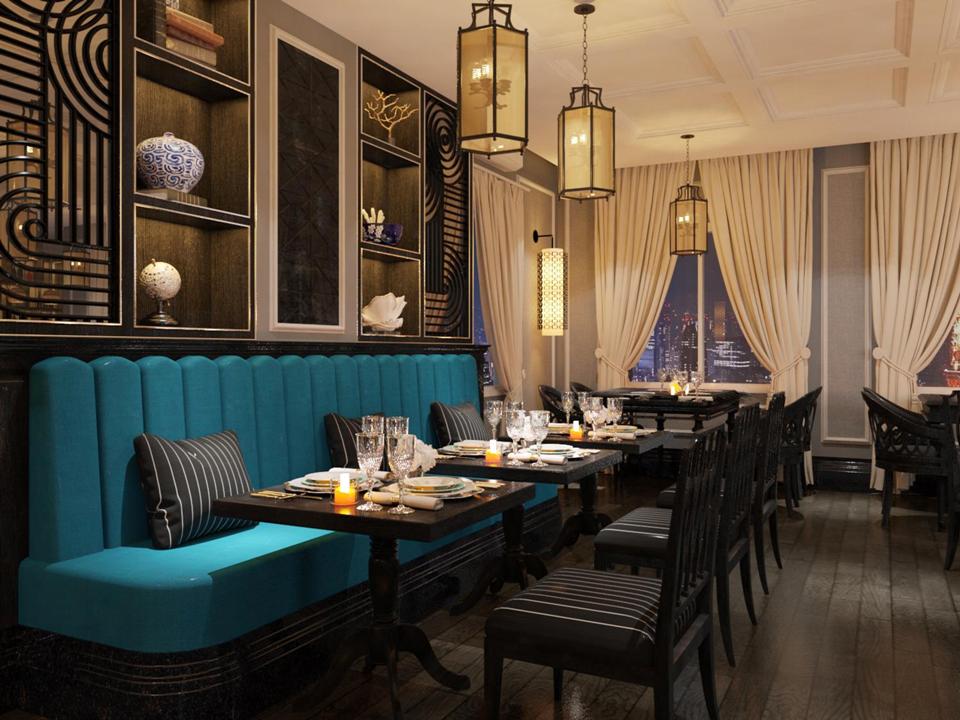 imperial restaurant dining area